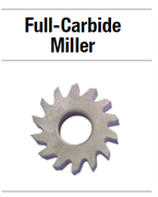 19A040 ФРЕЗА FULL-CARBIDE MILLER